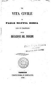 La vita civile di Paolo Mattia Doria