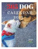 365 Dog Calendar 2021