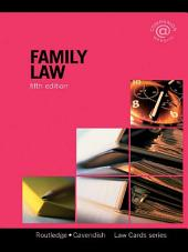 Family Lawcards 5/e: Fifth Edition, Edition 5