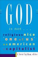 God Is Not    PDF