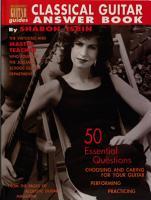 Classical Guitar Answer Book PDF