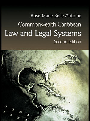 Commonwealth Caribbean Law and Legal Systems