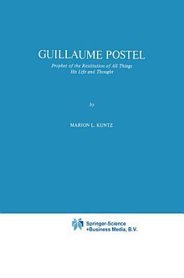 Guillaume Postel PDF