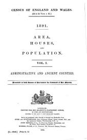 Census of England and Wales: Administrative and ancient counties. 2. Registration areas and sanitary districts