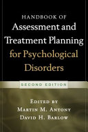 Handbook of Assessment and Treatment Planning for Psychological Disorders  2 e PDF