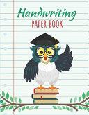 Handwriting Paper Book