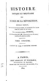 Histoire ... des guerres de la Révolution