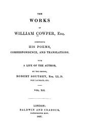 The Works of William Cowper: Translation of Homer's Iliad