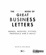 The Forbes Book of Great Business Letters PDF