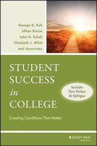 Student Success in College Book