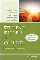 Student Success in College Book