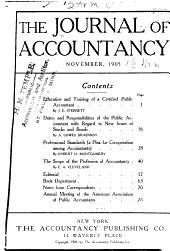 Journal of Accountancy: Volume 1