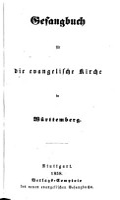 Gesangbuch f  r die evangel  Kirche in W  rttemberg PDF