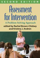 Assessment for Intervention  Second Edition PDF