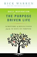 Daily Inspiration for the Purpose Driven Life PDF