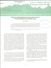 Effect of Bulk Density on Frost Heaving of Six Soils in Arizona