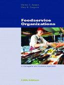 Foodservice Organizations Book