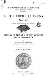 North American fauna: Issues 28-29