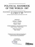 Political handbook of the world PDF