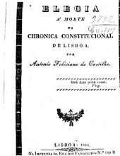 Elegia á morte de chronica constitucional de Lisboa