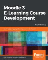 Moodle 3 E Learning Course Development PDF