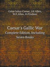 Caesar's Gallic War: Book 1