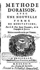 Méthode d'orasion avec une nouvelle forme de méditations