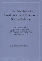 Exact Solutions of Einstein's Field Equations: Edition 2