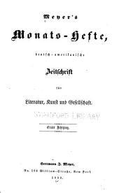 Meyer's Monats-hefte: Band 1