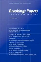 Brookings Papers on Economic Activity: Spring 2011: Spring 2011
