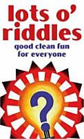 Lots O  Riddles PDF