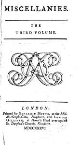 Miscellanies: Volume 3