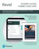 Revel for Government in America   California Government and Politics Today Combo Card