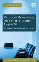 Corporate Governance, The Firm and Investor Capitalism
