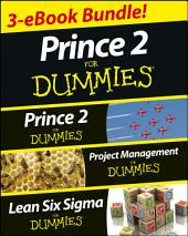 PRINCE 2 For Dummies Three e-book Bundle: Prince 2 For Dummies, Project Management For Dummies & Lean Six Sigma For Dummies: Edition 2