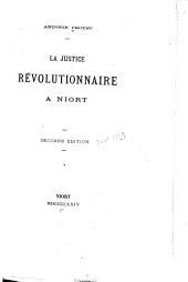 La justice révolutionnaire a Niort