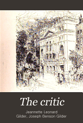 The Critic: Volume 33; Volume 36