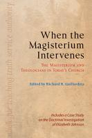 When the Magisterium Intervenes PDF