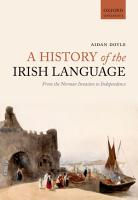 A History of the Irish Language PDF
