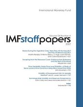 IMF Staff Papers: Volume 54, Issue 4