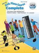 Alfred's Kid's Piano Course Complete