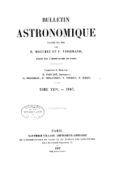 Bulletin astronomique: Volume 24