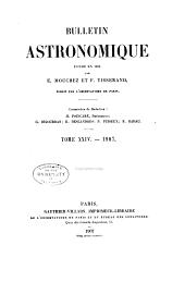 Bulletin astronomique: Volume24