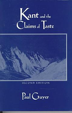 Kant and the Claims of Taste PDF