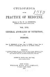 Cyclopædia of the Practice of Medicine: Volume 17
