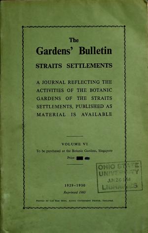 The Gardens' Bulletin