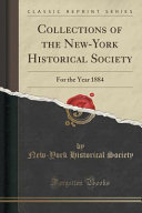 Collections of the New York Historical Society PDF