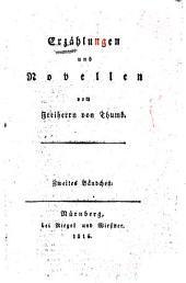 Erzählungen und Novellen: Band 2