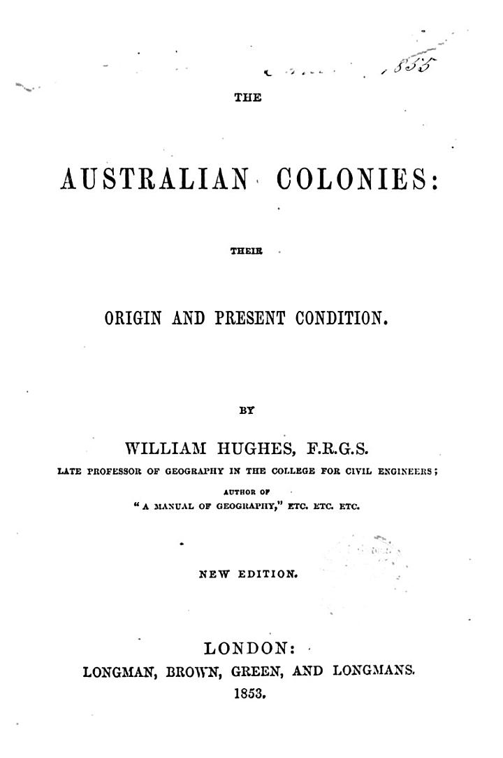 The australian colonies