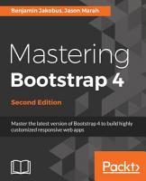 Mastering Bootstrap 4 PDF